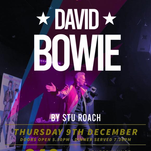 David Bowie by Stu Roach – Thur 9 Dec