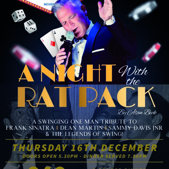 A Night with The Rat Pack – Thur 16 Dec